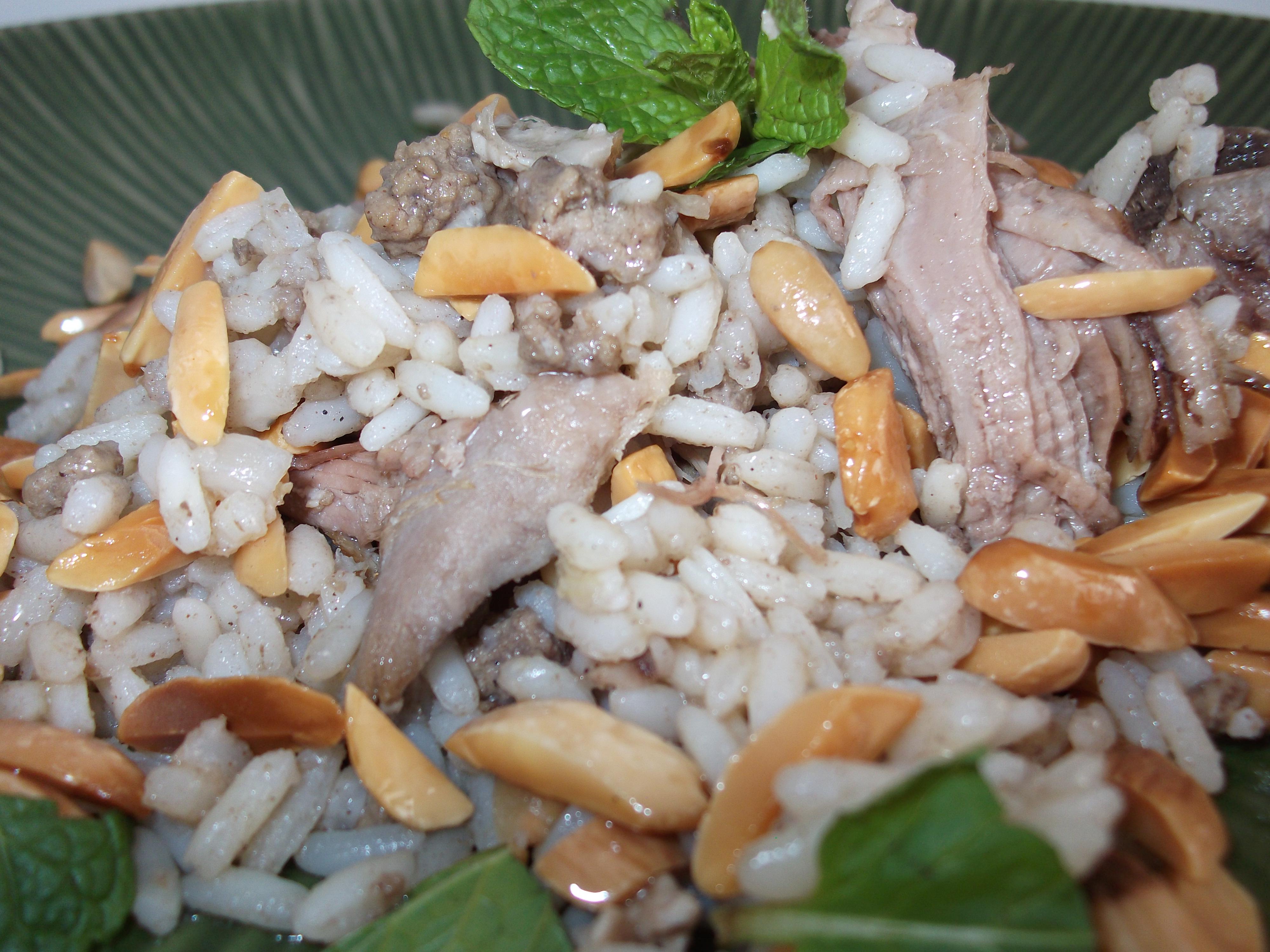 Lebanese Lamb & Rice